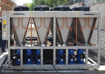 Поставка чиллера с воздушным охлаждением конденсатора Dunham-Bush