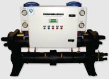 Геотермальный тепловой насос Dunham-Bush (спиральные компрессоры), серия BWHP