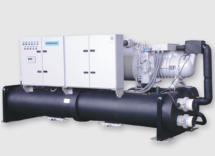 Геотермальный тепловой насос Dunham-Bush (полугерметичные винтовые компрессоры), серия WCDSXHP