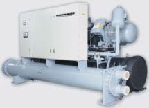 Чиллер с водяным охлаждением Dunham-Bush (полугерметичные компрессоры), серия HXWC