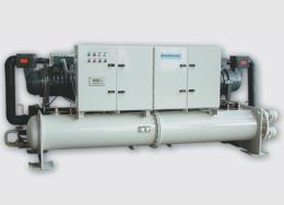 Чиллер с водяным охлаждением Dunham-Bush (полугерметичные винтовые компрессоры), серия WCDSX