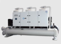 Чиллер с водяным охлаждением Dunham-Bush (вертикальный винтовой компрессор), серия WCFX