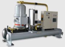 Чиллер с водяным охлаждением Dunham-Bush (винтовой инверторный компрессор), cерия WCFX-V